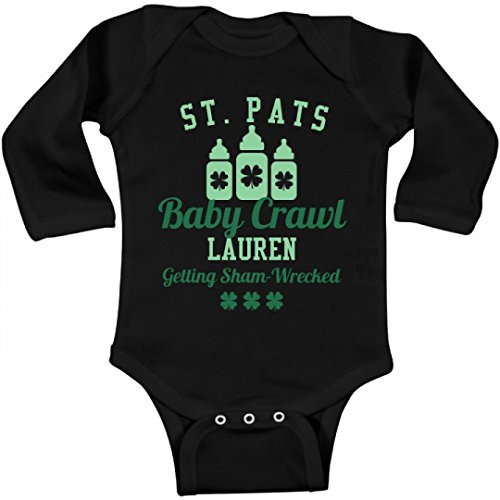 Download St. Pats Baby Crawl Lauren: Infant Long Sleeve Bodysuit