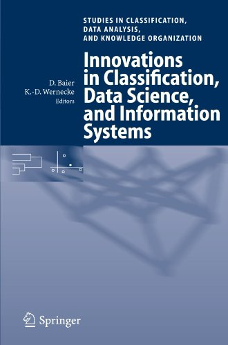 Download Innovations in Classification, Data Science, and Information Systems: Proceedings of the 27th Annual Conference of the Gesellschaft für Klassifikation ... Data Analysis, and Knowledge Organization)