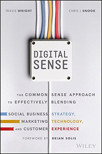 Download Digital Sense: The Common Sense Approach to Effectively Blending Social Business Strategy, Marketing Technology, and Customer Experience