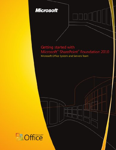 Download Getting started with Microsoft SharePoint Foundation 2010