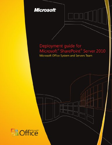 Download Deployment guide for Microsoft SharePoint Server 2010