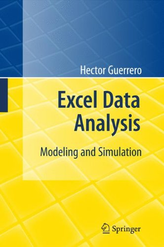 Download Excel Data Analysis: Modeling and Simulation