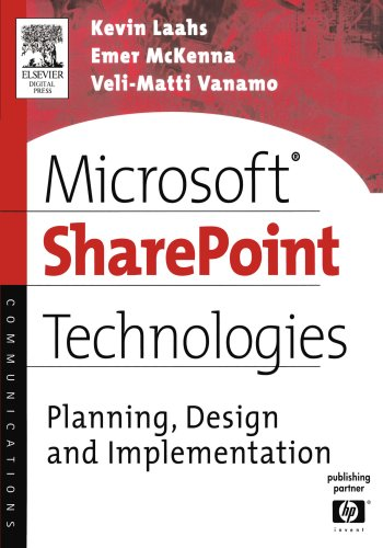 Download Microsoft SharePoint Technologies: Planning, Design and Implementation (HP Technologies)