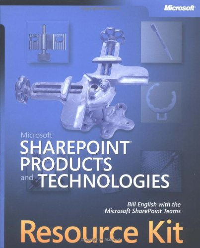 Download Microsoft SharePoint  Products and Technologies Resource Kit (Pro-Resource Kit)