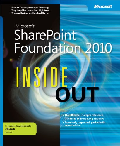 Download Microsoft SharePoint Foundation 2010 Inside Out