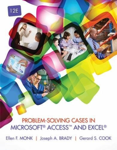 Download Problem-Solving Cases in Microsoft Access™ and Excel