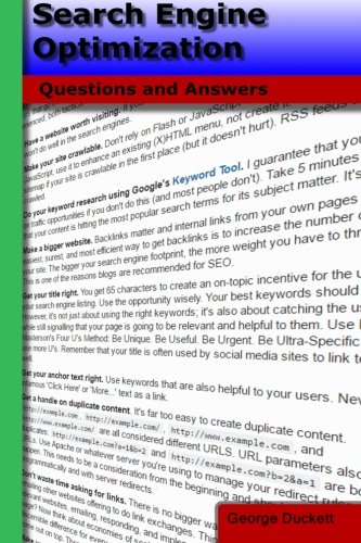 Download Search Engine Optimization: Questions and Answers