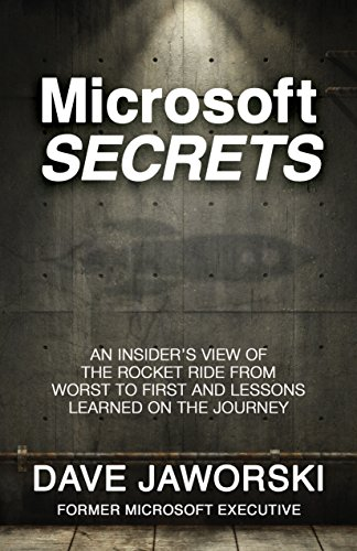 Download Microsoft Secrets: An Insider's View of the Rocket Ride from Worst to First and Lessons Learned on the Journey