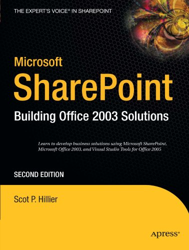 Download Microsoft SharePoint: Building Office 2003 Solutions (Expert's Voice in Sharepoint)
