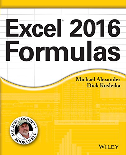 Download Excel 2016 Formulas (Mr. Spreadsheet's Bookshelf)