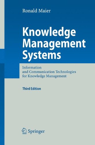 Download Knowledge Management Systems: Information and Communication Technologies for Knowledge Management