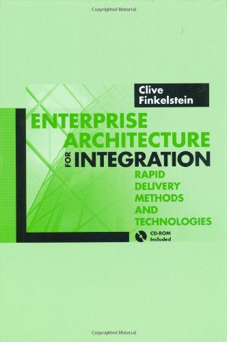 Download Enterprise Architecture for Integration: Rapid Delivery Methods and Technologies (Artech House Mobile Communications Library)