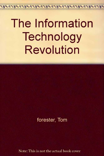 Download The Information Technology Revolution