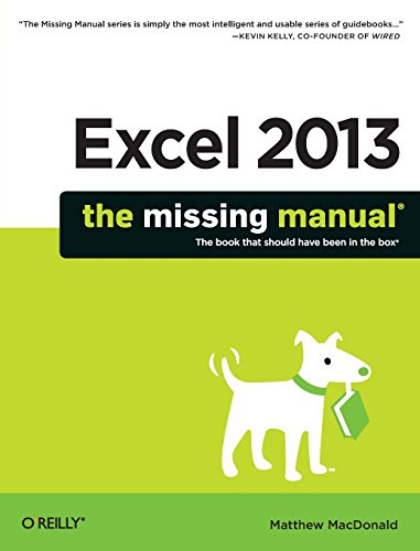 Download Excel 2013: The Missing Manual