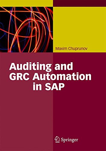 Download Auditing and GRC Automation in SAP