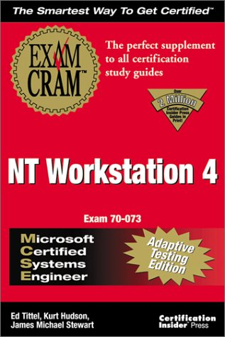 Download MCSE NT Workstation 4 Exam Cram Adaptive Testing Edition: Exam: 70-073