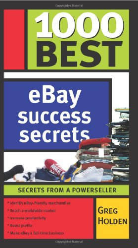 Download 1000 Best eBay Success Secrets: Secrets From a Powerseller