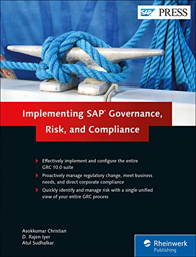 Download Implementing SAP Governance, Risk, and Compliance
