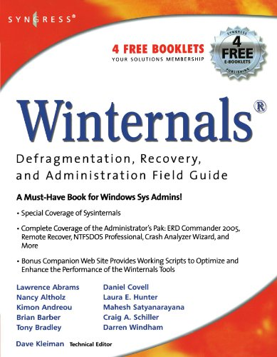 Download Winternals Defragmentation, Recovery, and Administration Field Guide