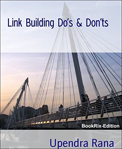 Download Link Building Do's & Don'ts: Indian writer SEO book