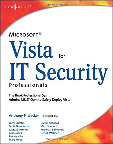 Download Microsoft Vista for IT Security Professionals