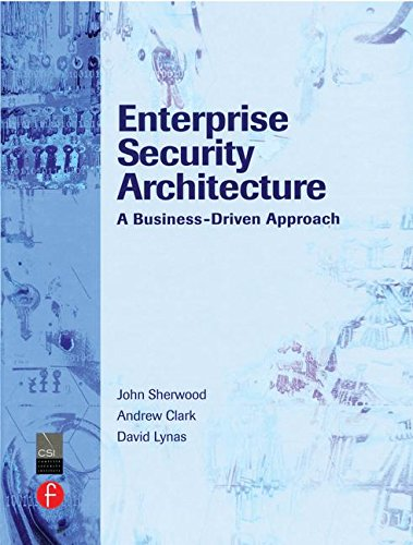 Download Enterprise Security Architecture: A Business-Driven Approach