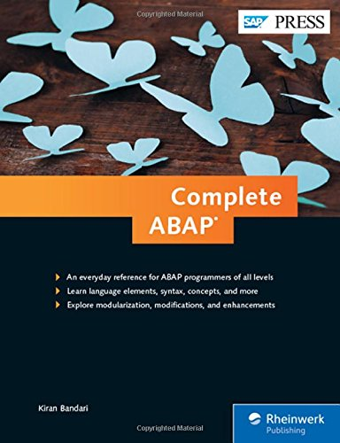 Download Complete ABAP: The Comprehensive Guide to ABAP 7.5 (SAP PRESS)