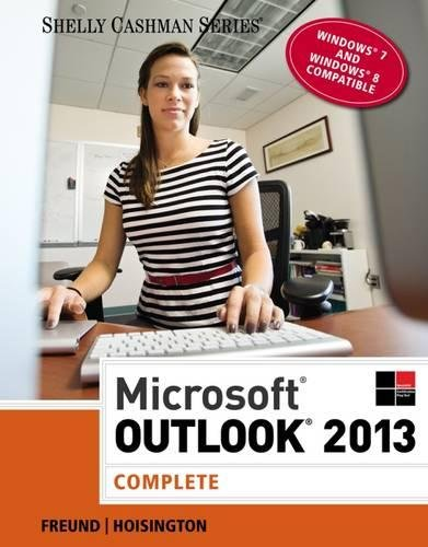 Download Microsoft Outlook 2013: Complete (Shelly Cashman Series)