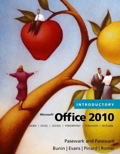 Download Microsoft Office 2010, Introductory (Origins Series)