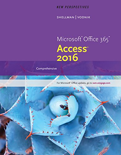 Download New Perspectives Microsoft Office 365 & Access 2016: Comprehensive, Loose-leaf Version